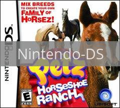 Image of Petz: Horseshoe Ranch original video game for Nintendo DS classic game system. Rocket City Arcade, Huntsville Al. We ship used video games Nationwide