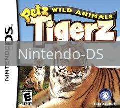 Image of Petz Wild Animals Tigerz original video game for Nintendo DS classic game system. Rocket City Arcade, Huntsville Al. We ship used video games Nationwide