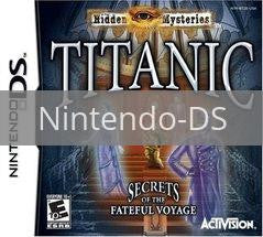 Image of Hidden Mysteries: Titanic original video game for Nintendo DS classic game system. Rocket City Arcade, Huntsville Al. We ship used video games Nationwide