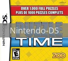 Image of Puzzle Time original video game for Nintendo DS classic game system. Rocket City Arcade, Huntsville Al. We ship used video games Nationwide