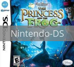 Image of The Princess and the Frog original video game for Nintendo DS classic game system. Rocket City Arcade, Huntsville Al. We ship used video games Nationwide
