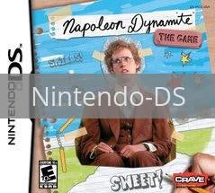 Image of Napoleon Dynamite original video game for Nintendo DS classic game system. Rocket City Arcade, Huntsville Al. We ship used video games Nationwide