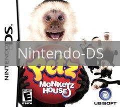 Image of Petz Monkeyz House original video game for Nintendo DS classic game system. Rocket City Arcade, Huntsville Al. We ship used video games Nationwide