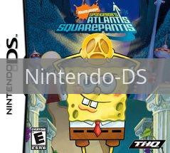 Image of SpongeBob SquarePants Atlantis SquarePantis original video game for Nintendo DS classic game system. Rocket City Arcade, Huntsville Al. We ship used video games Nationwide