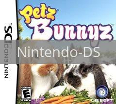 Image of Petz Bunnyz original video game for Nintendo DS classic game system. Rocket City Arcade, Huntsville Al. We ship used video games Nationwide