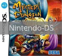 Image of Mystery Dungeon Shiren the Wanderer original video game for Nintendo DS classic game system. Rocket City Arcade, Huntsville Al. We ship used video games Nationwide