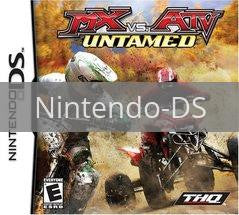 Image of MX vs ATV Untamed original video game for Nintendo DS classic game system. Rocket City Arcade, Huntsville Al. We ship used video games Nationwide