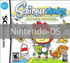 Image of Scribblenauts original video game for Nintendo DS classic game system. Rocket City Arcade, Huntsville Al. We ship used video games Nationwide