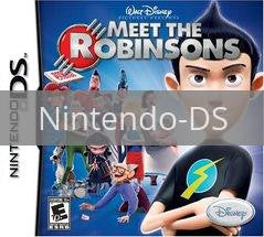 Image of Meet the Robinsons original video game for Nintendo DS classic game system. Rocket City Arcade, Huntsville Al. We ship used video games Nationwide
