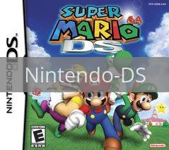 Image of Super Mario 64 DS original video game for Nintendo DS classic game system. Rocket City Arcade, Huntsville Al. We ship used video games Nationwide