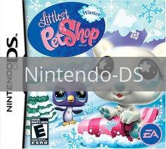 Image of Littlest Pet Shop Winter original video game for Nintendo DS classic game system. Rocket City Arcade, Huntsville Al. We ship used video games Nationwide