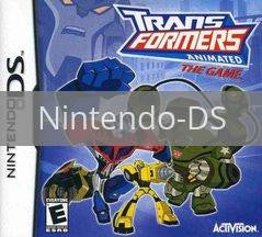 Image of Transformers Animated original video game for Nintendo DS classic game system. Rocket City Arcade, Huntsville Al. We ship used video games Nationwide