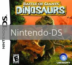 Image of Battle of Giants: Dinosaurs original video game for Nintendo DS classic game system. Rocket City Arcade, Huntsville Al. We ship used video games Nationwide