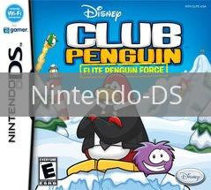 Image of Club Penguin: Elite Penguin Force original video game for Nintendo DS classic game system. Rocket City Arcade, Huntsville Al. We ship used video games Nationwide