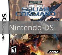 Image of Warhammer 40k Squad Command original video game for Nintendo DS classic game system. Rocket City Arcade, Huntsville Al. We ship used video games Nationwide
