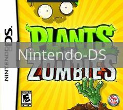Image of Plants vs. Zombies original video game for Nintendo DS classic game system. Rocket City Arcade, Huntsville Al. We ship used video games Nationwide