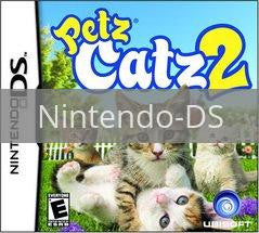 Image of Petz Catz 2 original video game for Nintendo DS classic game system. Rocket City Arcade, Huntsville Al. We ship used video games Nationwide