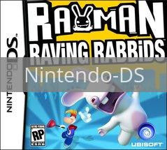Image of Rayman Raving Rabbids original video game for Nintendo DS classic game system. Rocket City Arcade, Huntsville Al. We ship used video games Nationwide