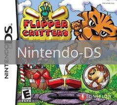 Image of Flipper Critters original video game for Nintendo DS classic game system. Rocket City Arcade, Huntsville Al. We ship used video games Nationwide