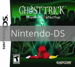 Image of Ghost Trick: Phantom Detective original video game for Nintendo DS classic game system. Rocket City Arcade, Huntsville Al. We ship used video games Nationwide