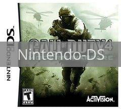 Image of Call of Duty 4 Modern Warfare original video game for Nintendo DS classic game system. Rocket City Arcade, Huntsville Al. We ship used video games Nationwide
