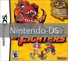 Image of Fossil Fighters original video game for Nintendo DS classic game system. Rocket City Arcade, Huntsville Al. We ship used video games Nationwide