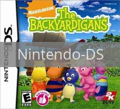 Image of The Backyardigans original video game for Nintendo DS classic game system. Rocket City Arcade, Huntsville Al. We ship used video games Nationwide