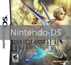 Image of Final Fantasy XII Revenant Wings original video game for Nintendo DS classic game system. Rocket City Arcade, Huntsville Al. We ship used video games Nationwide
