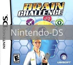 Image of Brain Challenge original video game for Nintendo DS classic game system. Rocket City Arcade, Huntsville Al. We ship used video games Nationwide