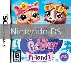 Image of Littlest Pet Shop: Beach Friends original video game for Nintendo DS classic game system. Rocket City Arcade, Huntsville Al. We ship used video games Nationwide