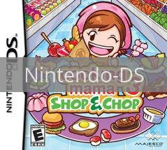 Image of Cooking Mama 3: Shop & Chop original video game for Nintendo DS classic game system. Rocket City Arcade, Huntsville Al. We ship used video games Nationwide