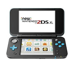 New Nintendo 2DS XL Black & Blue