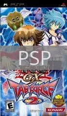 Image of Yu-Gi-Oh GX Tag Force 2 original video game for PSP classic game system. Rocket City Arcade, Huntsville Al. We ship used video games Nationwide