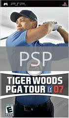 Image of Tiger Woods 2007 original video game for PSP classic game system. Rocket City Arcade, Huntsville Al. We ship used video games Nationwide