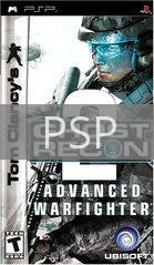Image of Ghost Recon Advanced Warfighter 2 original video game for PSP classic game system. Rocket City Arcade, Huntsville Al. We ship used video games Nationwide