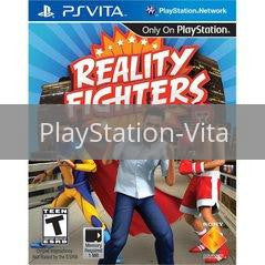Image of Reality Fighters original video game for PlayStation Vita classic game system. Rocket City Arcade, Huntsville Al. We ship used video games Nationwide
