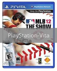 Image of MLB 12 original video game for PlayStation Vita classic game system. Rocket City Arcade, Huntsville Al. We ship used video games Nationwide