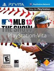 Image of MLB 13 The Show original video game for PlayStation Vita classic game system. Rocket City Arcade, Huntsville Al. We ship used video games Nationwide