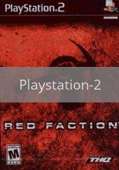 Image of Red Faction original video game for Playstation 2 classic game system. Rocket City Arcade, Huntsville Al. We ship used video games Nationwide