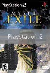 Image of Myst 3 Exile original video game for Playstation 2 classic game system. Rocket City Arcade, Huntsville Al. We ship used video games Nationwide