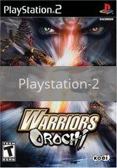 Image of Warriors Orochi original video game for Playstation 2 classic game system. Rocket City Arcade, Huntsville Al. We ship used video games Nationwide