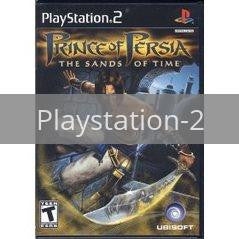 Image of Prince of Persia Sands of Time original video game for Playstation 2 classic game system. Rocket City Arcade, Huntsville Al. We ship used video games Nationwide
