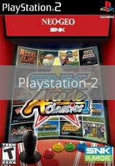 Image of SNK Arcade Classics Volume 1 original video game for Playstation 2 classic game system. Rocket City Arcade, Huntsville Al. We ship used video games Nationwide