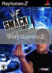 Image of WWF Smackdown Just Bring It original video game for Playstation 2 classic game system. Rocket City Arcade, Huntsville Al. We ship used video games Nationwide