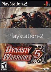 Image of Dynasty Warriors 5 original video game for Playstation 2 classic game system. Rocket City Arcade, Huntsville Al. We ship used video games Nationwide