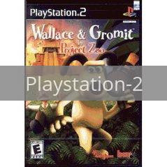 Image of Wallace and Gromit Project Zoo original video game for Playstation 2 classic game system. Rocket City Arcade, Huntsville Al. We ship used video games Nationwide