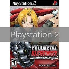 Image of Fullmetal Alchemist Broken Angel original video game for Playstation 2 classic game system. Rocket City Arcade, Huntsville Al. We ship used video games Nationwide