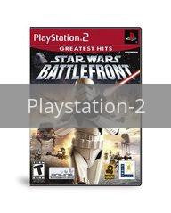 Image of Star Wars Battlefront original video game for Playstation 2 classic game system. Rocket City Arcade, Huntsville Al. We ship used video games Nationwide