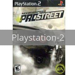 Image of Need for Speed Prostreet original video game for Playstation 2 classic game system. Rocket City Arcade, Huntsville Al. We ship used video games Nationwide