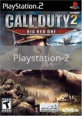 Image of Call of Duty 2 Big Red One original video game for Playstation 2 classic game system. Rocket City Arcade, Huntsville Al. We ship used video games Nationwide